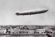 87 anos da chegada do Zeppelin ao Recife