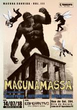 Lançamento do primeiro EP da banda Macunamassa