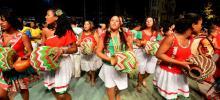 Ensaio do Maracatu Nação de Pernambuco