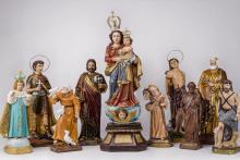 Maria e os santos